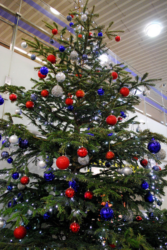 when i was growing up i had a friend whose family used to put up an artificial aluminum christmas tree every year pink - How To Put Up A Christmas Tree