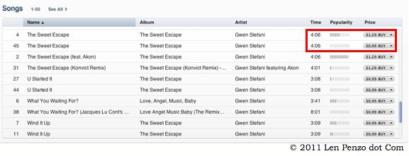 how to get number of songs in itunes