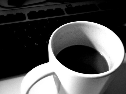 But first, coffee. - cover