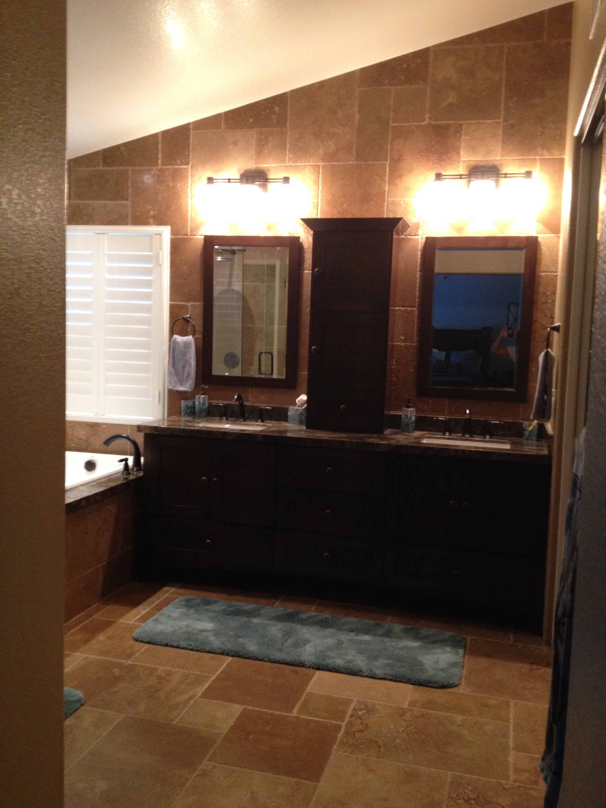 Pictures Of Our Bathroom Remodel And Some Lessons Learned - Southern maryland bathroom remodeling