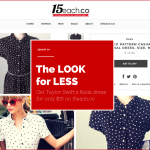 A New Online Clothing Store Sells Name Brands For $15 Each