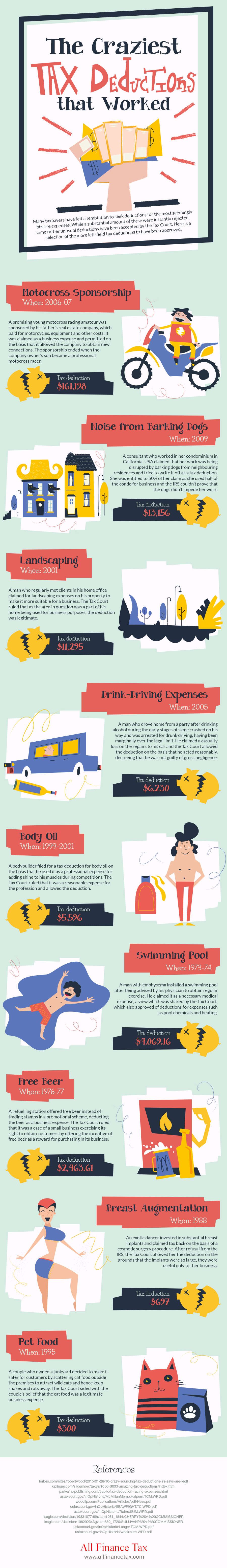 the-craziest-tax-deductions-that-worked-infographic