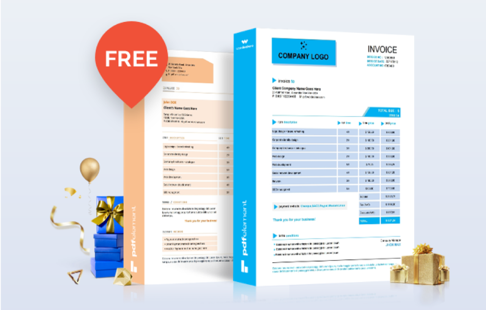 Get Access To Free Invoice Templates For Word Psd Excel And Pdf