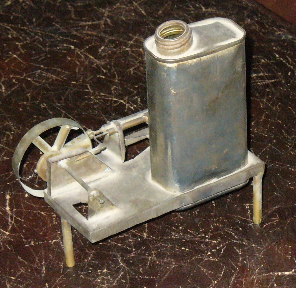 miniature model steam engine